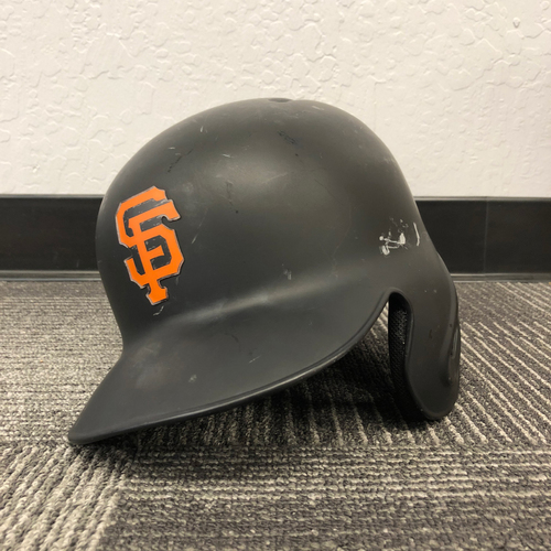 Photo of San Francisco Giants - 2017 Game-Used Helmet - Austin Slater - worn on 9/12/17