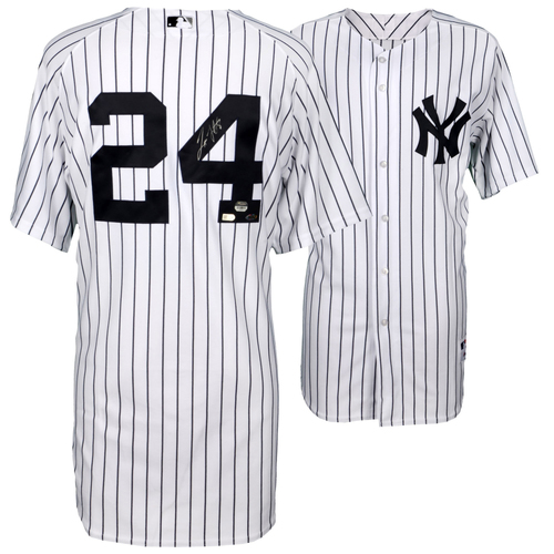 Photo of Tino Martinez New York Yankees Autographed Home Jersey