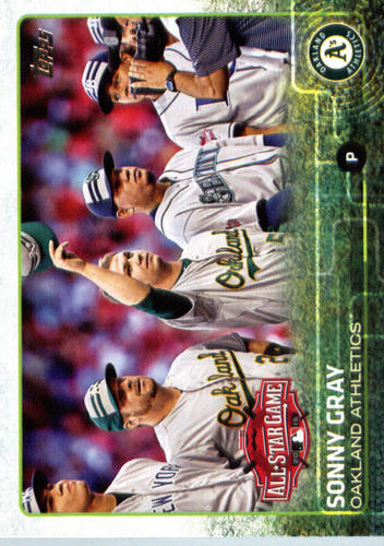Photo of 2015 Topps Update #US93 Sonny Gray