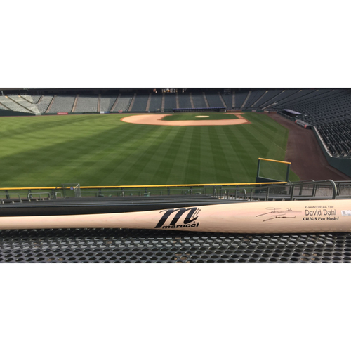 Photo of Colorado Rockies Autographed Replica Bat - David Dahl