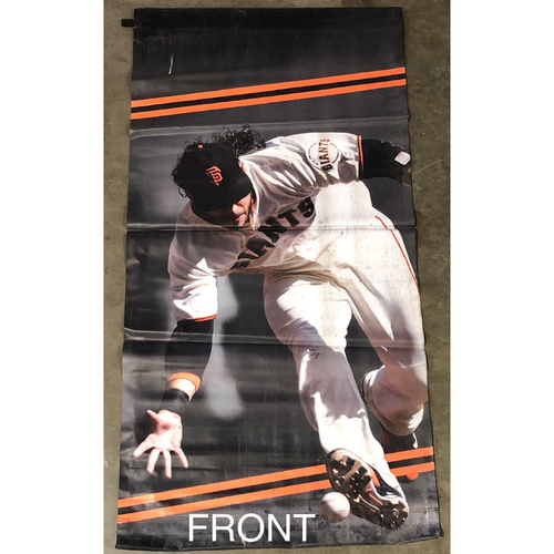 Photo of San Francisco Giants - 2018 Street Banner - 60th Anniversary - Brandon Crawford