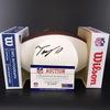 NFL - Cowboys Tony Pollard Signed Panel Ball