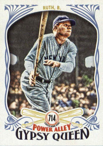 Photo of 2016 Topps Gypsy Queen Power Alley #PA17 Babe Ruth