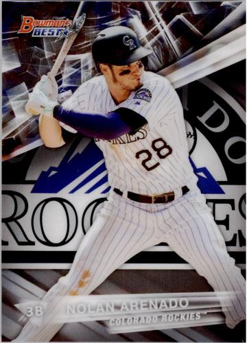Photo of 2016 Bowman's Best #33 Nolan Arenado