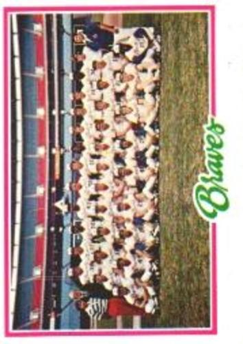 Photo of 1978 Topps #551 Atlanta Braves CL