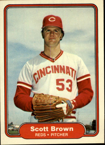 Photo of 1982 Fleer #60 Scott Brown