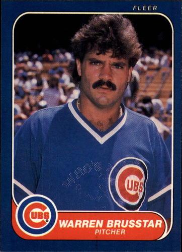 Photo of 1986 Fleer #362 Warren Brusstar
