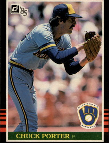 Photo of 1985 Donruss #115 Chuck Porter