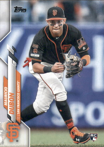 Photo of 2020 Topps #178 Mauricio Dubon RC