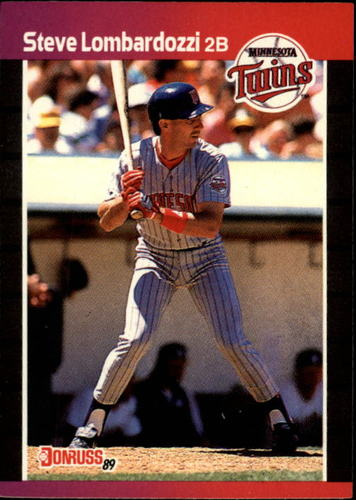 Photo of 1989 Donruss #554 Steve Lombardozzi DP