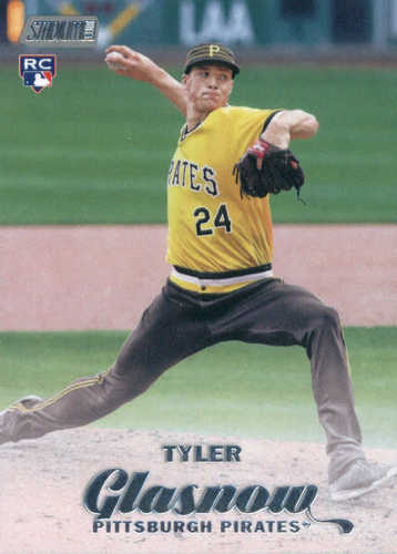 Photo of 2017 Stadium Club #161 Tyler Glasnow RC