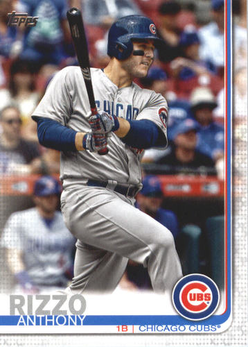 Photo of 2019 Topps #596 Anthony Rizzo