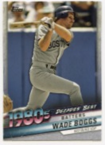 Photo of 2020 Topps Decades' Best #DB41 Wade Boggs