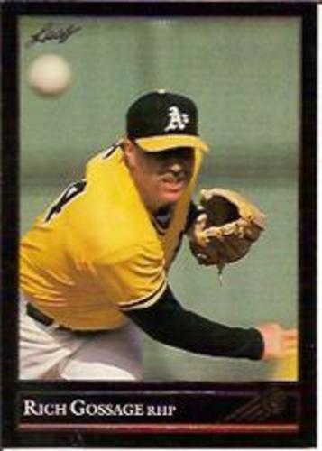 Photo of 1992 Leaf Black Gold #474 Rich Gossage
