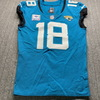 Crucial Catch - Jaguars Chris Conley Game Used Jersey (10/18/20) Size 40 with Captains Patch