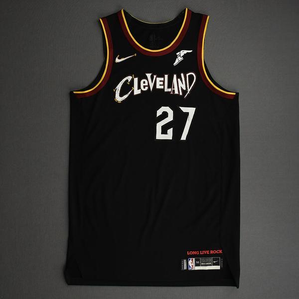 Image of Mfiondu Kabengele - Cleveland Cavaliers - Game-Worn City Edition Jersey - 2020-21 NBA Season