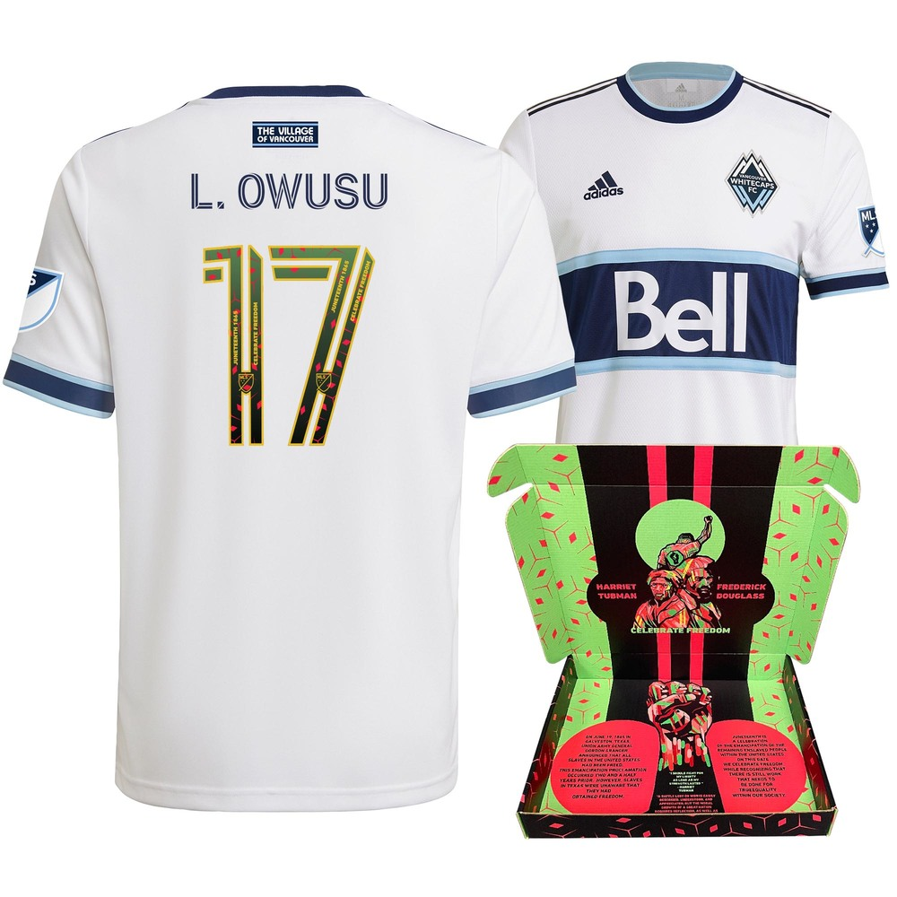 Leonard Owusu Vancouver Whitecaps FC Player-Issued & Signed