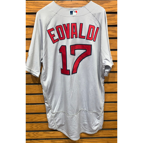 Photo of Nathan Eovaldi Team Issued 2019 Road Jersey