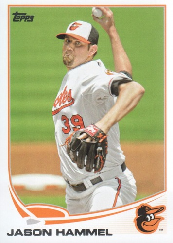 Photo of 2013 Topps #463 Jason Hammel