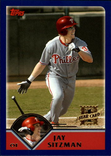 Photo of 2003 Topps Traded #T262 Jay Sitzman FY RC
