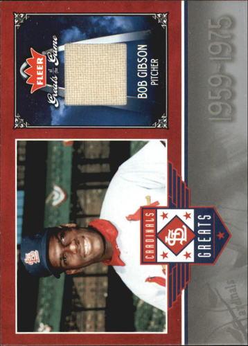 Photo of 2006 Greats of the Game Cardinals Greats Memorabilia #BG Bob Gibson Pants