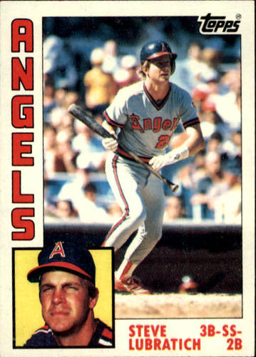Photo of 1984 Topps #266 Steve Lubratich