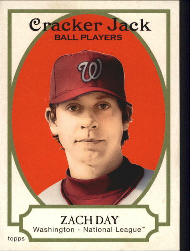 Photo of 2005 Topps Cracker Jack #32 Zach Day
