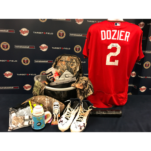 2017 Twins Favorite Things Auction: Brian Dozier Favorite Things Basket