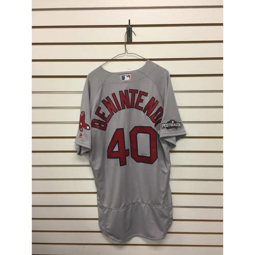 Andrew Benintendi Team-Issued 2016 Road Jersey