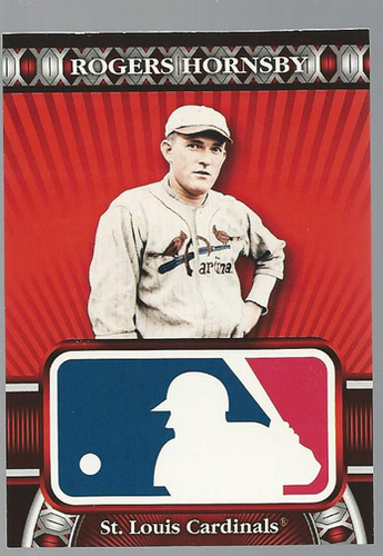 Photo of 2010 Topps Logoman HTA #34 Rogers Hornsby