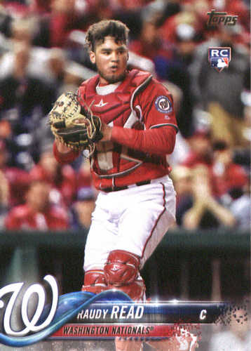Photo of 2018 Topps #136 Raudy Read RC