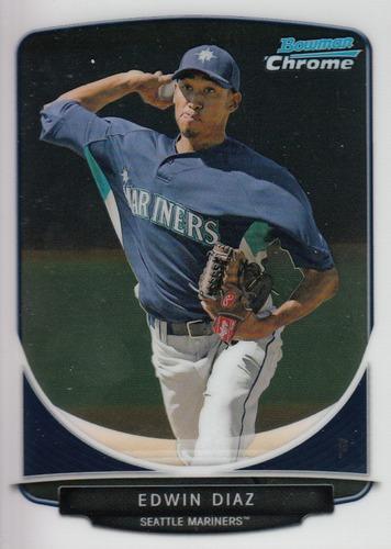 Photo of 2013 Bowman Chrome Prospects #BCP29 Edwin Diaz Pre-rookie Card