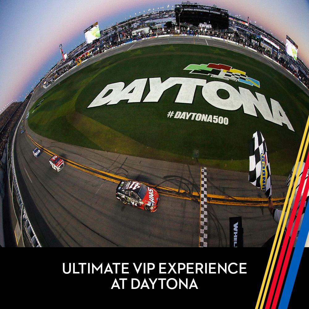 Ultimate VIP Experience at Daytona International Speedway!