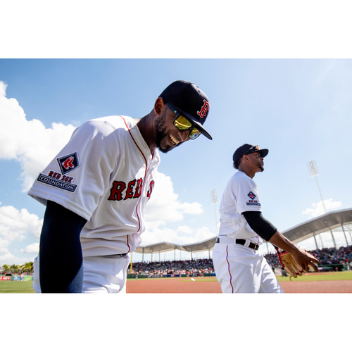 Photo of Red Sox Foundation Game Day - Eduardo Nunez Team-Issued or Game-Used and Autographed Jersey (Pre-Game Sale)