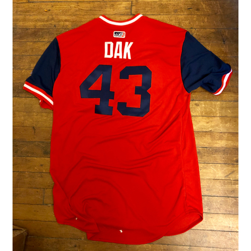 "Photo of Dakota ""Dak"" Hudson St. Louis Cardinals Game-Used Jersey 2018 Players' Weekend Jersey"