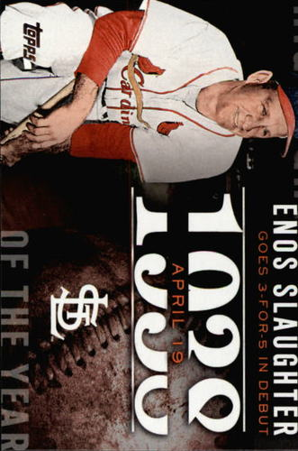 Photo of 2015 Topps Highlight of the Year #H36 Enos Slaughter