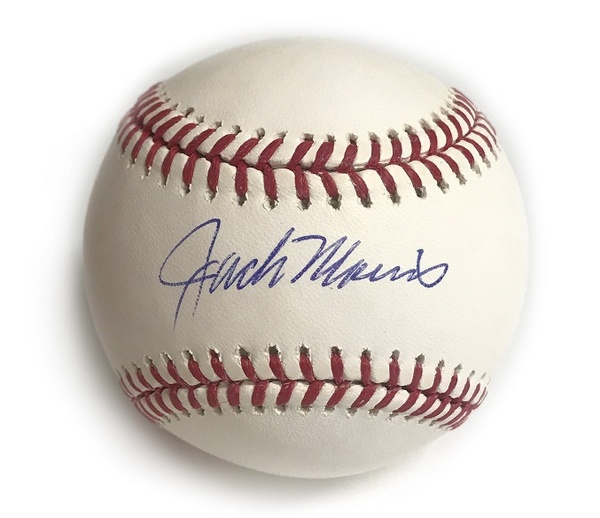Autographed Jack Morris Baseball - Blue Jays Authentics