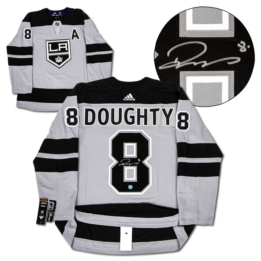 Drew Doughty Los Angeles Kings Signed Alternate Adidas Authentic Hockey Jersey