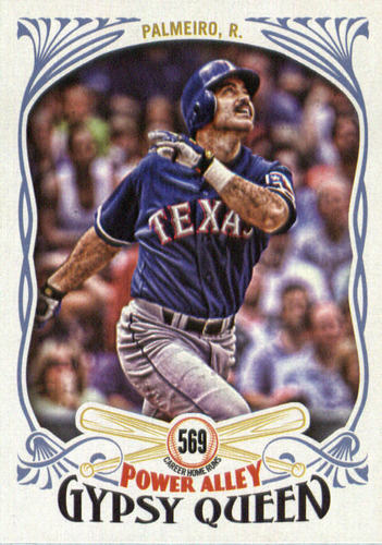 Photo of 2016 Topps Gypsy Queen Power Alley #PA24 Rafael Palmeiro