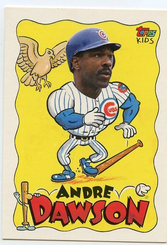 Photo of 1992 Topps Kids #2 Andre Dawson