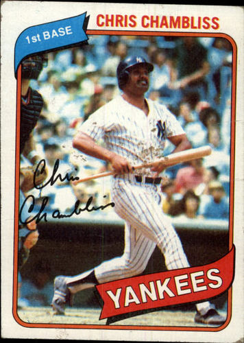 Photo of 1980 Topps #625 Chris Chambliss