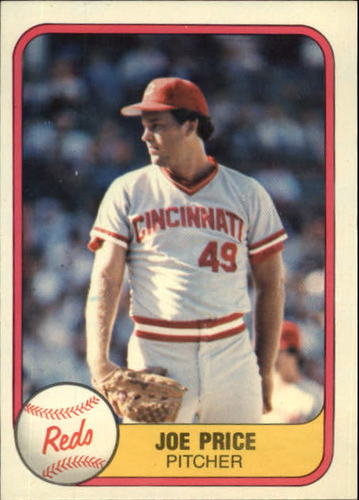 Photo of 1981 Fleer #210 Joe Price RC