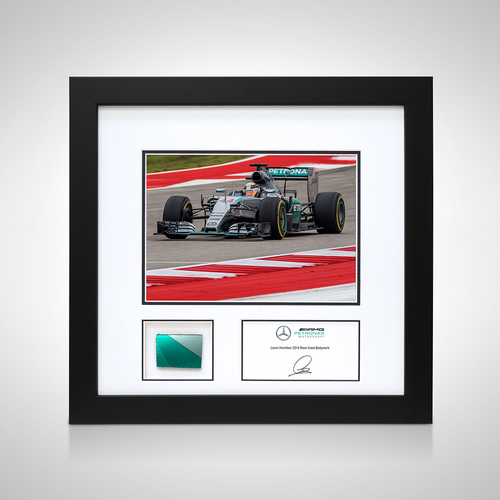 Photo of Lewis Hamilton 2015 Photo and Bodywork - US GP - Mercedes-AMG Petronas Formul...