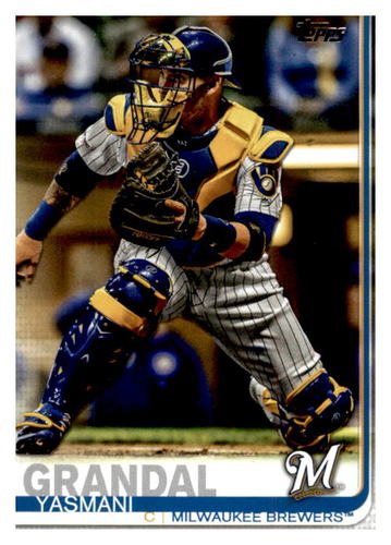 Photo of 2019 Topps Update #US224 Yasmani Grandal
