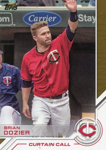 Photo of 2017 Topps Salute #S143 Brian Dozier