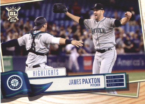 Photo of 2019 Topps Big League #392 James Paxton