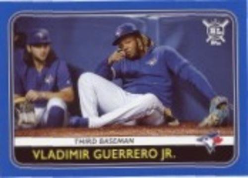 Photo of 2020 Topps Big League Blue #141 Vladimir Guerrero Jr.