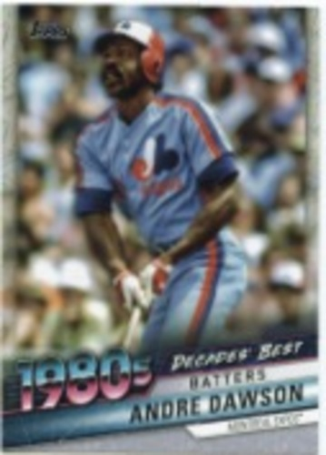 Photo of 2020 Topps Decades' Best #DB50 Andre Dawson