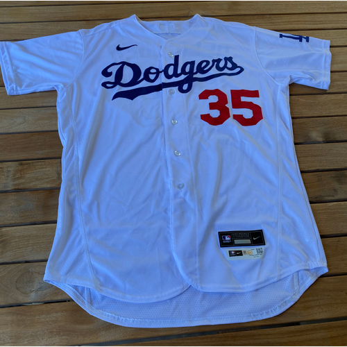 Photo of Cody Bellinger Game-Used Jersey from the 9/25/20 Game vs. LAA - Size 46