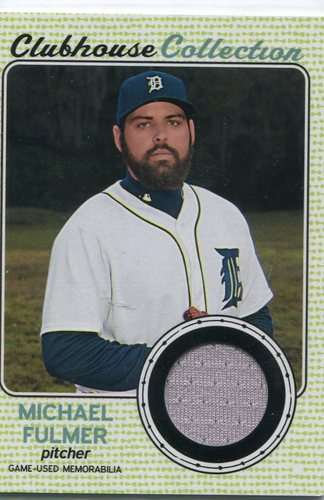 Photo of 2017 Topps Heritage Clubhouse Collection Relics #CCRMF Michael Fulmer